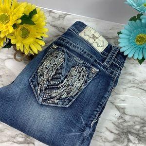 Miss Me Embellished Easy Skinny Jeans